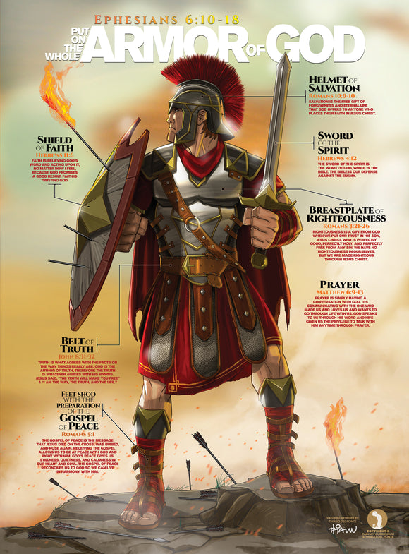 The Armor of God (65 in. x 88 in.) Life-Size