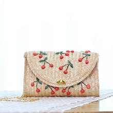 Mini Straw Crossbody  Handbag