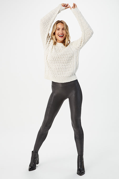 Faux Leather Leggings Spanx