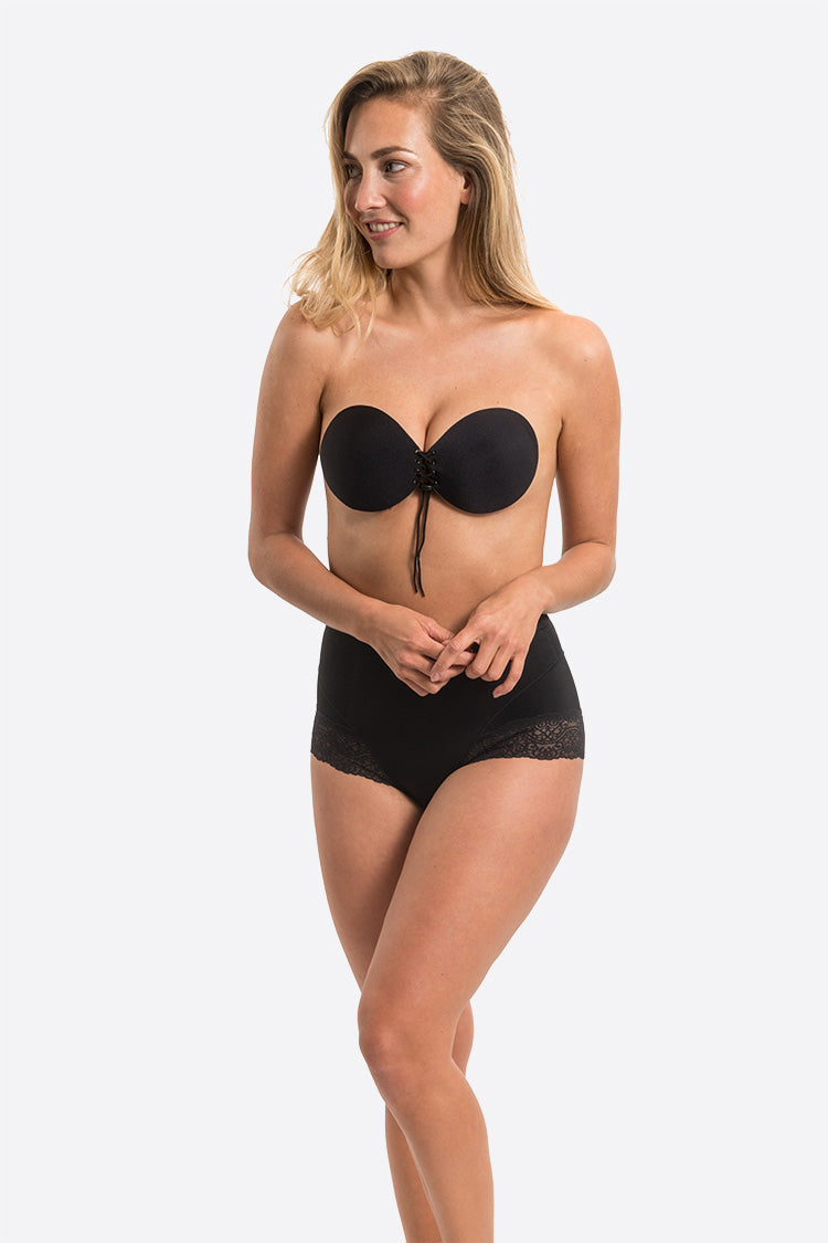 Magic Bodyfashion Va-Va-Voom Push Schwarz Vorne