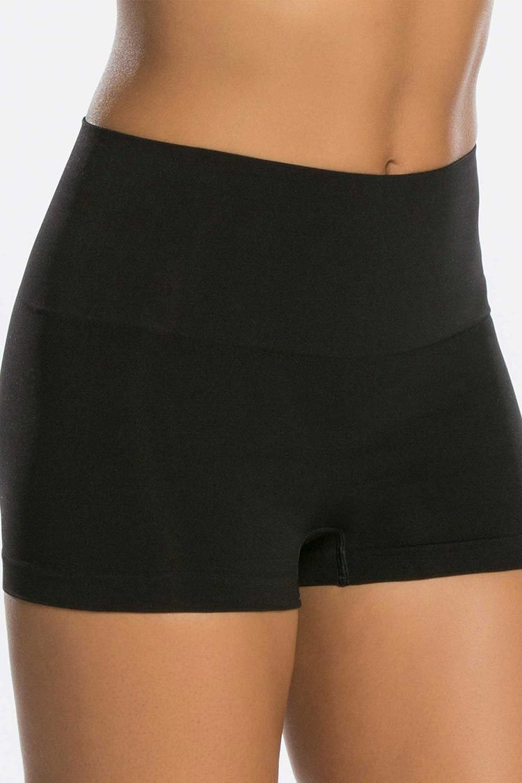 SPANX Everyday Boyshort Schwarz Vorne