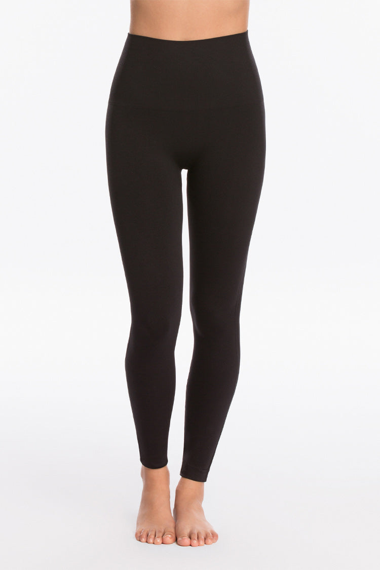 SPANX Look At Me Now Seamless Leggings Schwarz Vorne