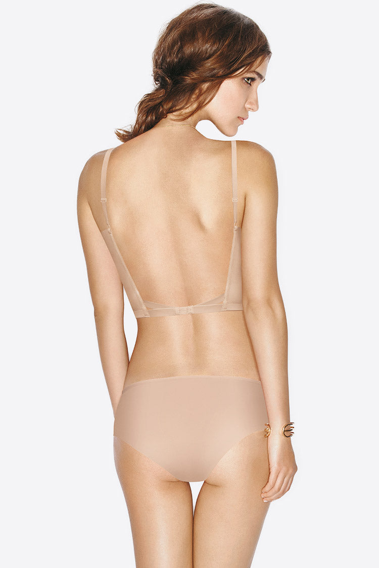 Wonderbra-Ultimate Backless BH Shapewear Push-up nude