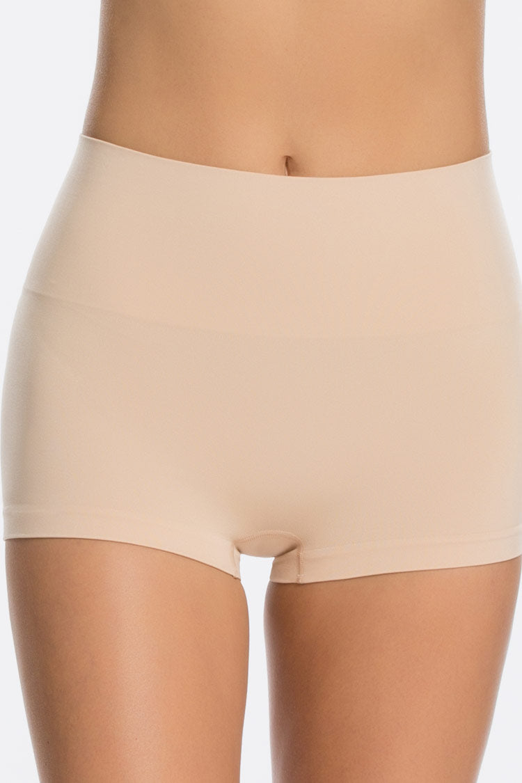 SPANX Everyday Boyshort Nude Vorne