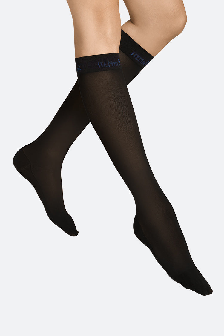 Item m6 Travel Knee-High Skyline Schwarz