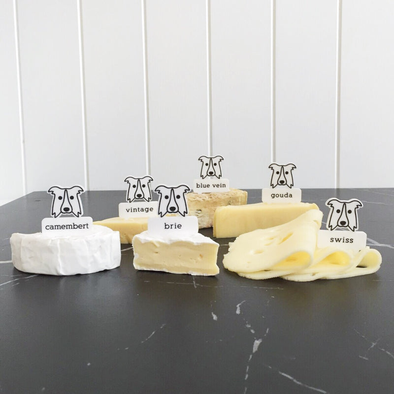 hotdog.com.au | Border Collie Cheese Marker Set