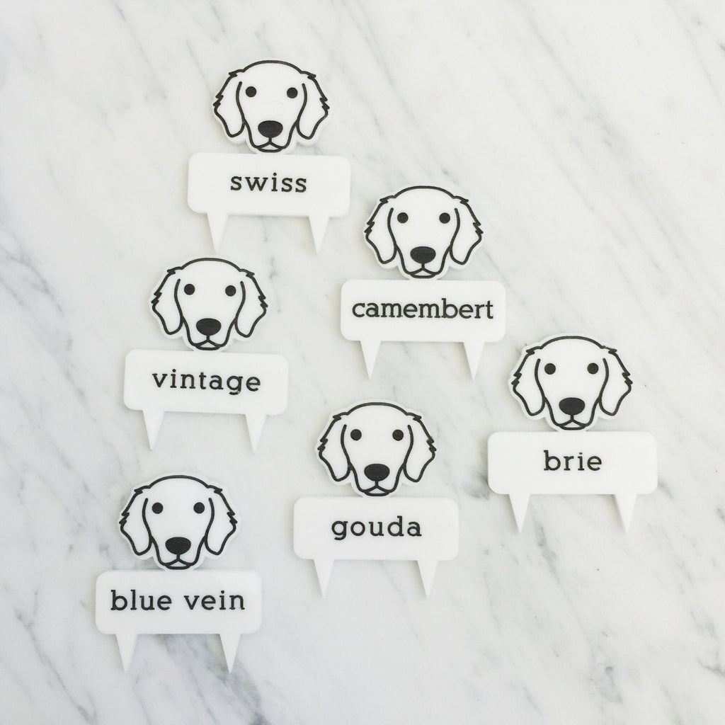 hotdog.com.au | Golden Retrievers Cheese Markers