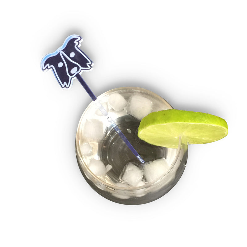 hotdog.com.au | Border Collie Blue Drink Stirrer