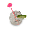 Golden Retriever Drink Stirrer - Fluro Pink (Set of 6)