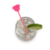 Staffy Drink Stirrer - Fluro Pink (Set of 6)