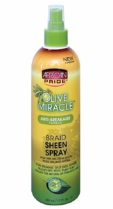 Olive Miracle Anti Breakage Braid Sheen Spray