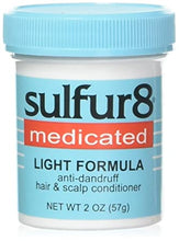 Load image into Gallery viewer, Sulfur 8 Medicated Light Formula: Anti-dandruff hair and scalp Conditioner