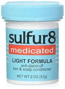 Sulfur 8 Medicated Light Formula: Anti-dandruff hair and scalp Conditioner