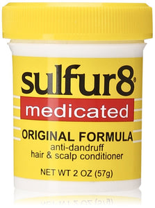Sulfur 8 Medicated Original Formula: Anti-dandruff hair and scalp Conditioner