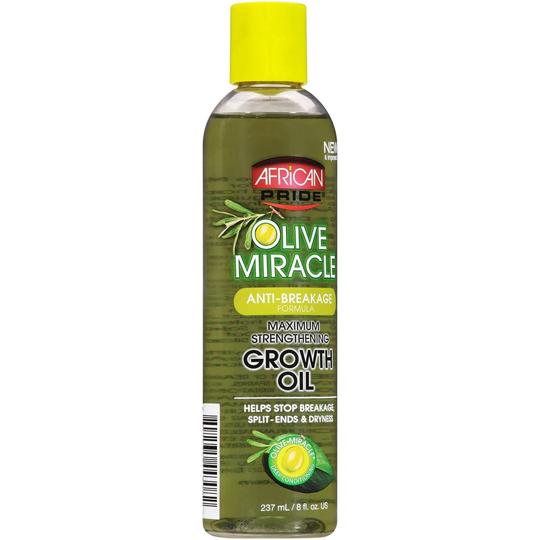 African Pride Olive Miracle Maximum Strength Growth Oil