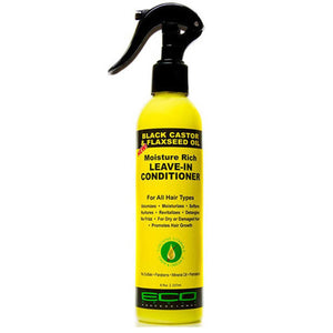 Eco Style Black Castor Flaxseed Oil Leave in Conditioner