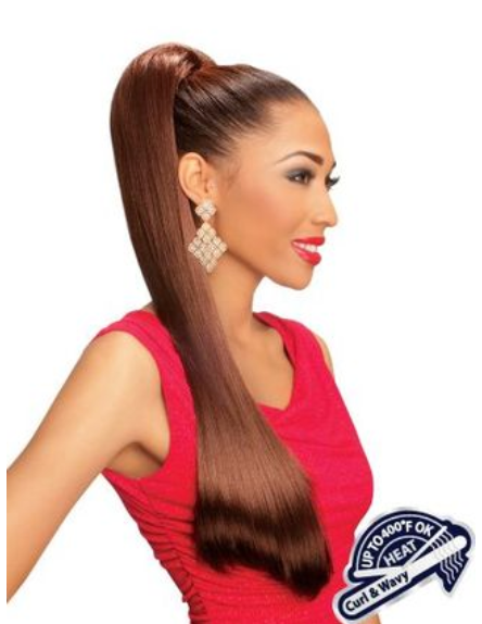 Collection Casablanca Wrap Ponytail - SILKY STRAIGHT 36