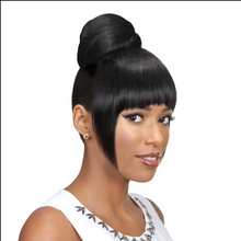 Load image into Gallery viewer, Eve Hair Casablanca Collection: Fringe Bun 2 in 1 - FB-PORA