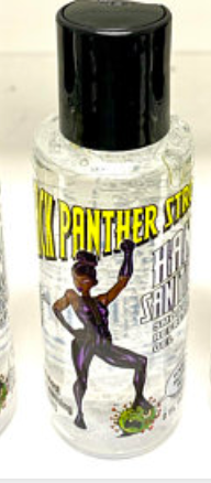 Black Panther Hand Sanitizer 4oz