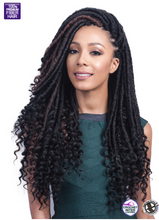 Load image into Gallery viewer, BOMBA FAUX LOCS SOUL CURLY TIPS 20