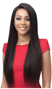 "FULL LACE STRAIGHT 28"" BUNDLE HUMAN HAIR WIG"