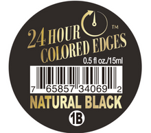 Load image into Gallery viewer, 24HOUR COLORED EDGE TAMER - NATURAL BLACK