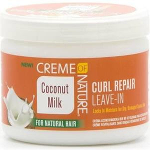 Creme of Nature | Coconut Milk | Curl Repair Leave-In