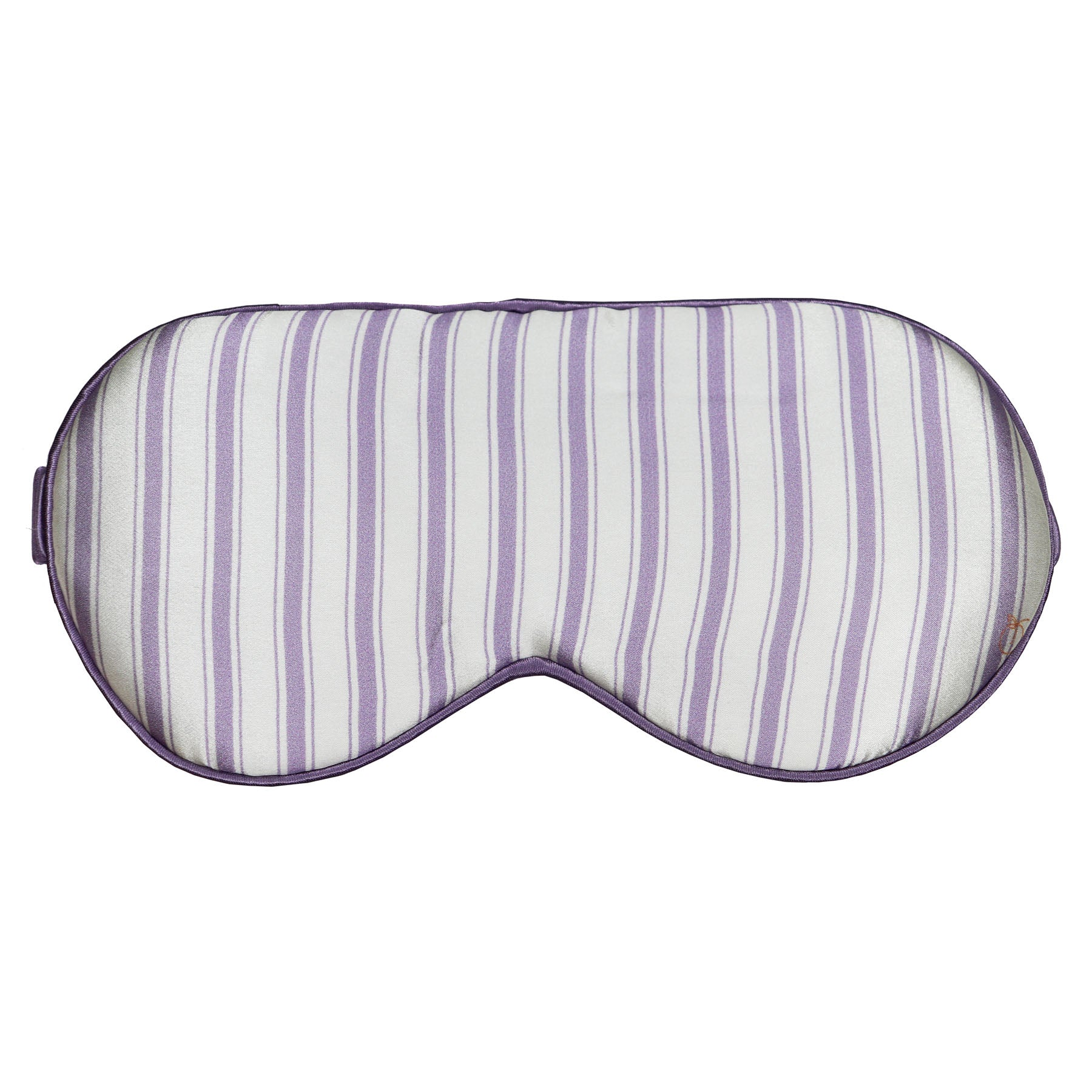 *Perfectly Imperfect* Lilac - I Got Stripes Silk Sleep Eye Mask