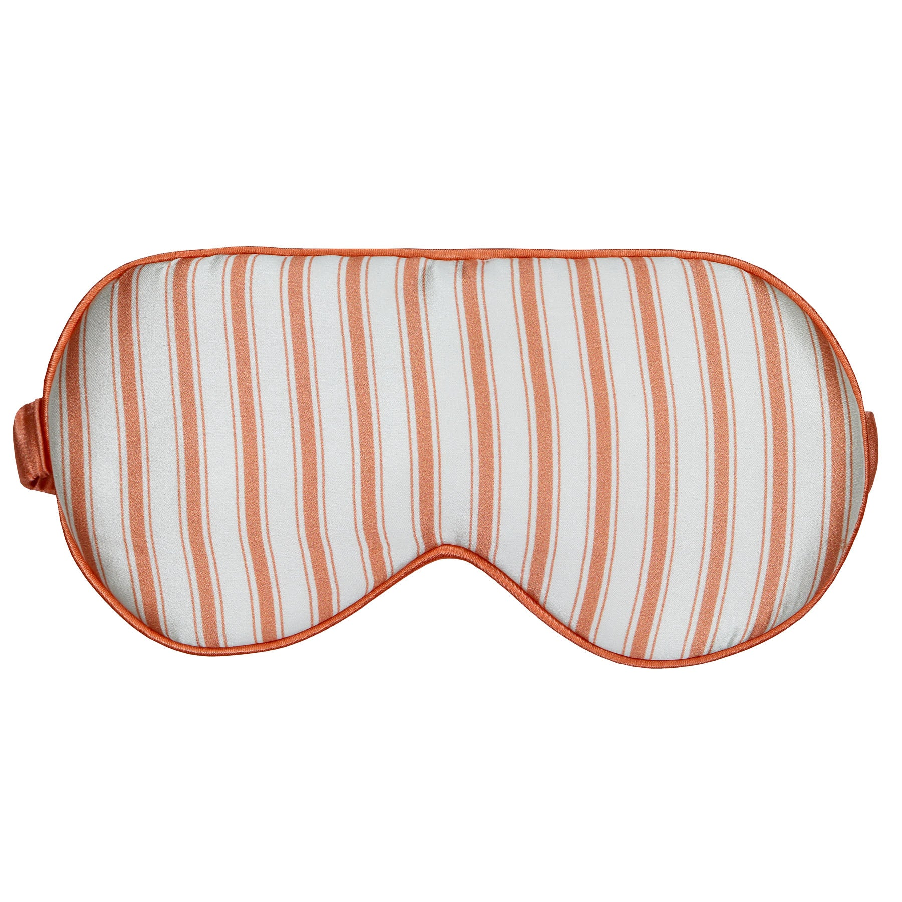 *Perfectly Imperfect* Peach - I Got Stripes Silk Sleep Eye Mask