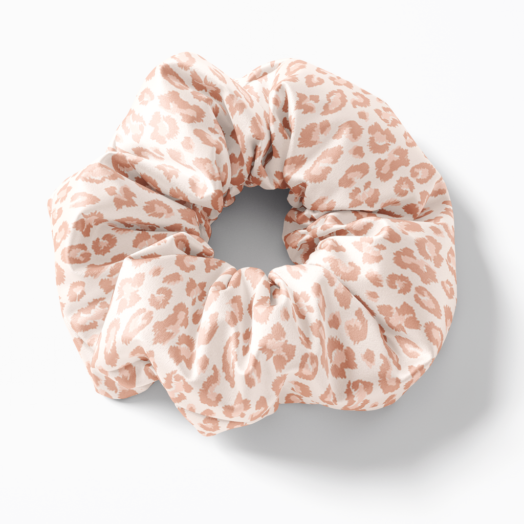 The Wild One Leopard Print Silk Scrunchies (set of 3) | Frankie Peach Silk Accessories Australia