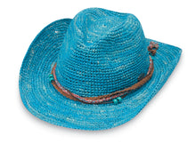 Load image into Gallery viewer, Ocean Blue Catalina Cowboy Hat