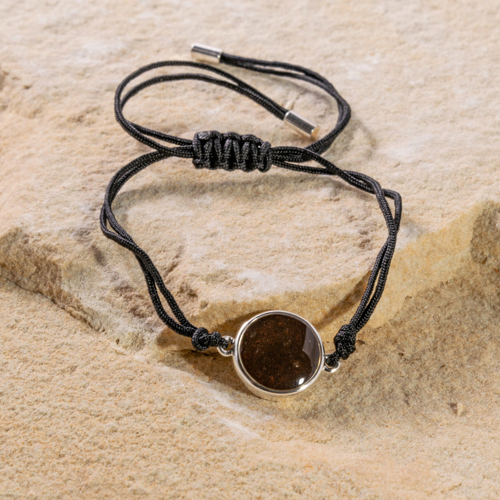 Round Black Cord Bracelet - Cathedral Rock
