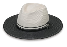 Load image into Gallery viewer, Ivory Black Kristy Hat