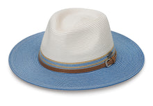 Load image into Gallery viewer, Ivory Ice Blue Kristy Hat