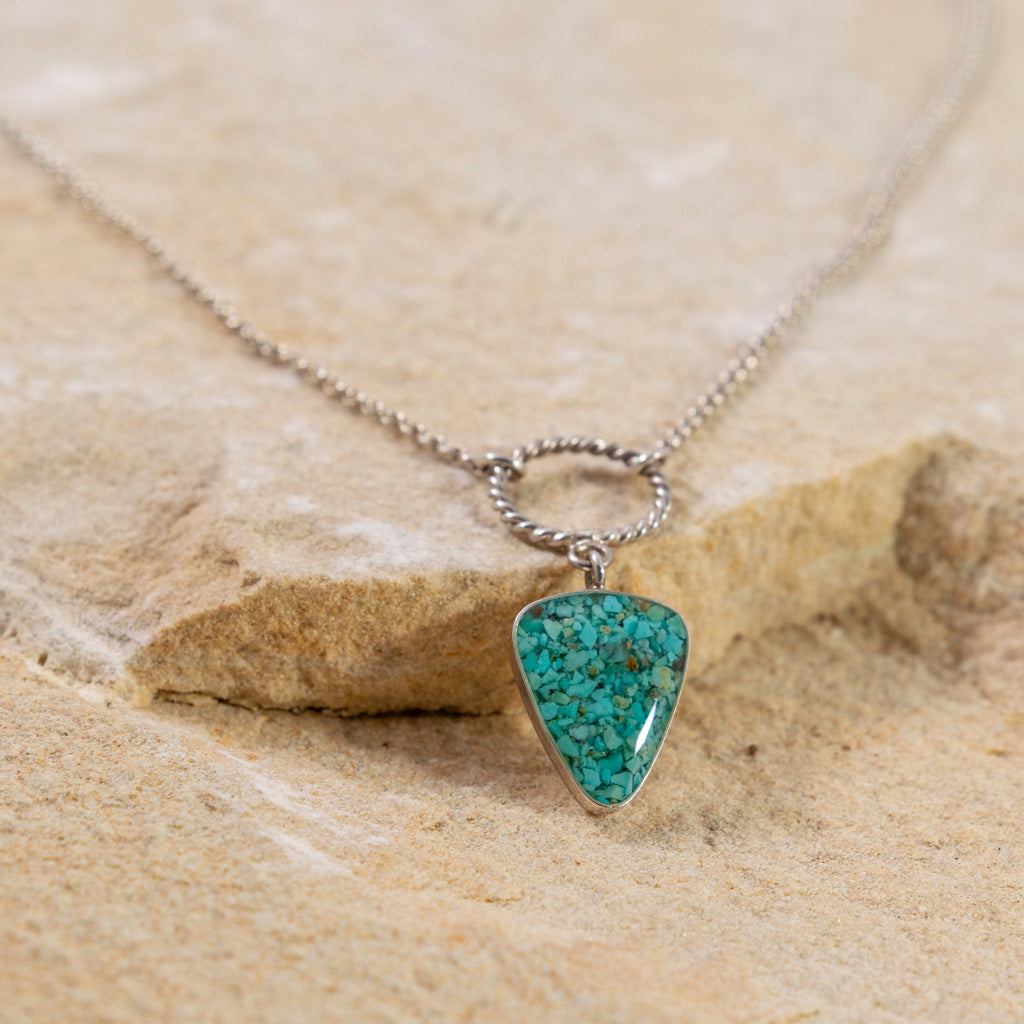 Arrowhead Necklace - Turquoise