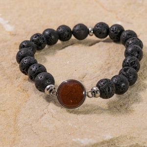 Men's Bracelet - Lava & Bell Rock