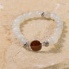 Bead Bracelet - Moonstone & Bell Rock