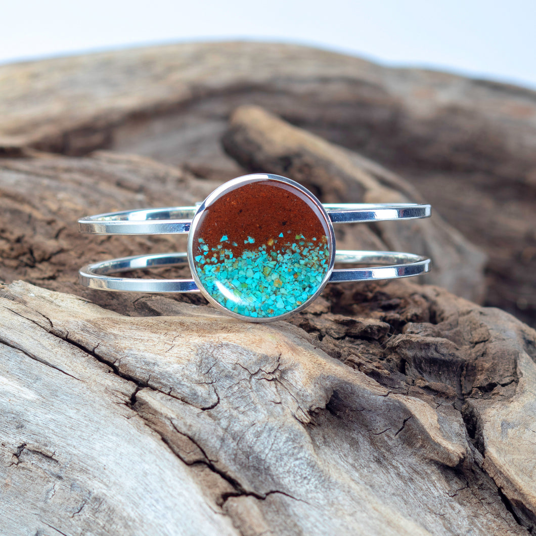 Marina Bracelet, Bell Rock and Turquoise