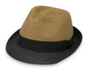 Tan Black Tia Hat