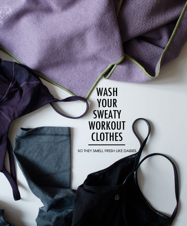 Washing Your Workout Gear The Right Way