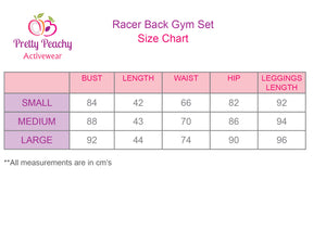 Racer Back Gym Set