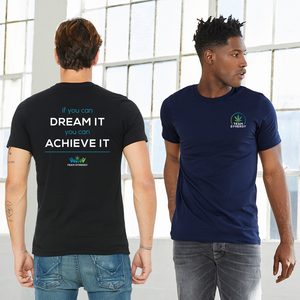 TEAM SYNERGY WITH SLOGAN ON BACK - Short Sleeve Unisex T-Shirt