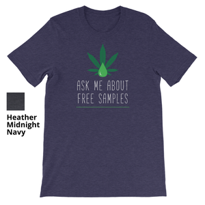 ASK ME ABOUT FREE SAMPLES - Short Sleeve Unisex T-Shirt