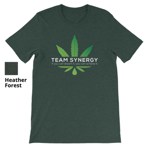 TEAM SYNERGY HEMP LOGO - Short Sleeve Unisex T-Shirt