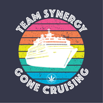 TEAM SYNERGY GONE CRUISING - Short Sleeve Unisex T-Shirt