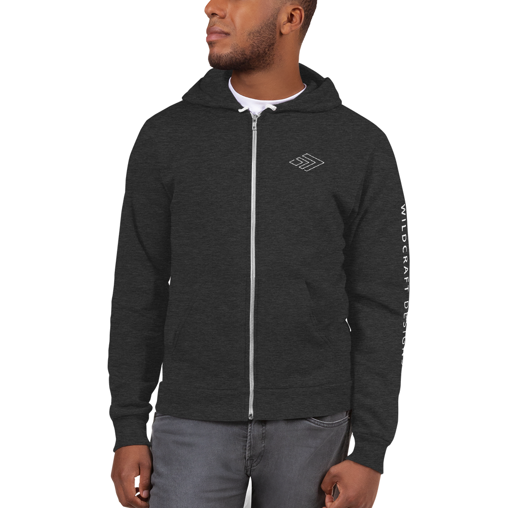 WILDCRAFT DESIGNS - Unisex Zip Hoodie Sweater