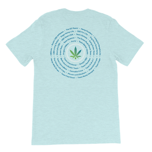 CBD CRUISERS - Short Sleeve Unisex T-Shirt
