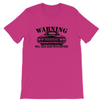 WARNING: WILL TALK CARS WITH ANYONE - Short-Sleeve Unisex T-Shirt