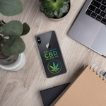 ASK HOW CBD HELPED ME - iPhone Case