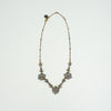 Open Stone Clover Necklace